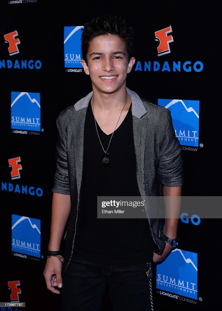 Actor Aramis Knight arrives at Summit Entertainment's press event for the movies 'Ender's Game' and 'Divergent' at the Hard Rock Hotel San Diego on July 18, 2013 in San Diego, California.