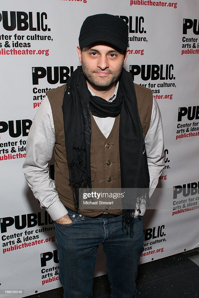 Actor Arian Moayed attends the Under The Radar Festival 2013 Opening Night Celebration at The Public Theater on January 9, 2013 in New York City.