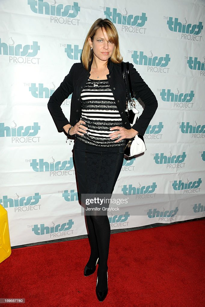 Actor Arianne Zucker attends the Thirst Project Charity Cocktail Party held at Lexington Social House on January 15, 2013 in Hollywood, California.