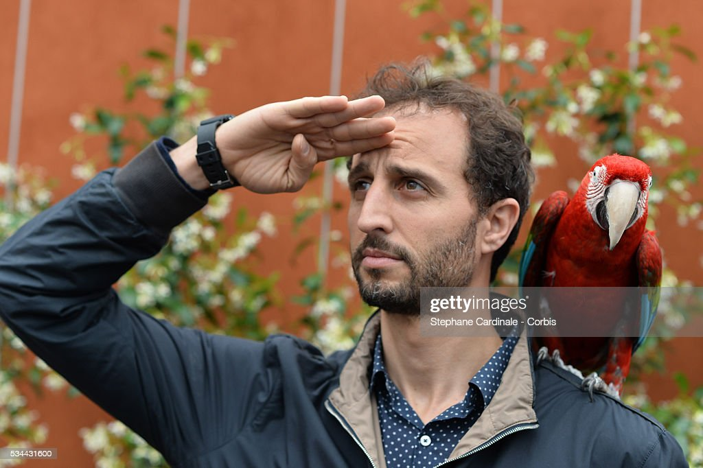 Actor Arie Elmaleh attends day five of the 2016 French Open at Roland Garros on May 26, 2016 in Paris, France.
