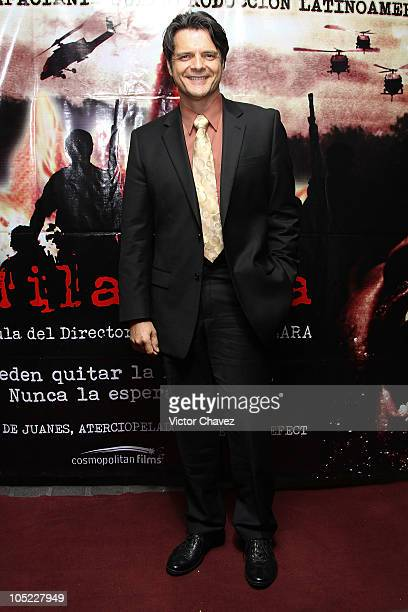 Actor Ariel Lopez Padilla attends the 'La Milagrosa' premiere at Lumier Reforma on October 12 2010 in Mexico City Mexico