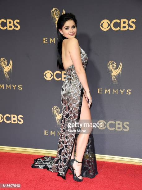 Actor Ariel Winter attends the 69th Annual Primetime Emmy Awards at Microsoft Theater on September 17 2017 in Los Angeles California
