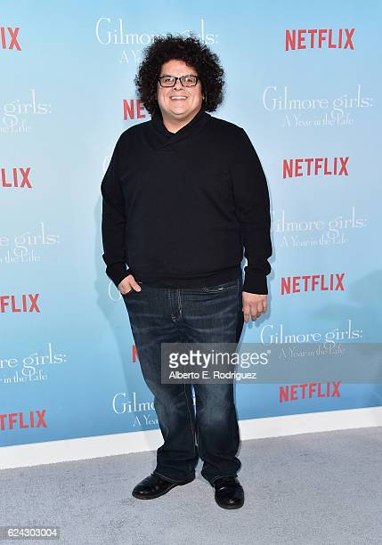 Actor Aris Alvarado attends the premiere of Netflix's 'Gilmore Girls A Year In The Life' at the Regency Bruin Theatre on November 18 2016 in Los...