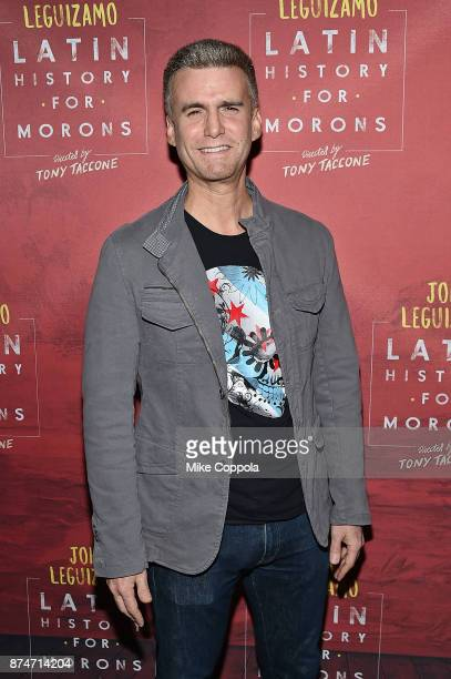 Actor Armando Riesco attends 'Latin History For Morons' Broadway Opening Night at Studio 54 on November 15 2017 in New York City