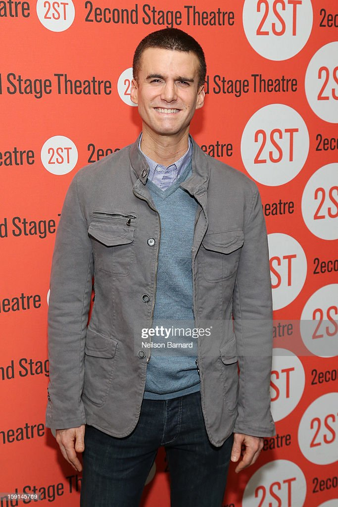 Actor Armando Riesco attends the 'Water By The Spoonful' Opening Night Celebration at Dave & Buster's Time Square on January 8, 2013 in New York City.
