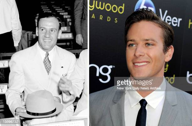 In this composite image a comparison has been made between Clyde Tolson and Actor Armie Hammer Oscar hype begins this week with the announcement of...