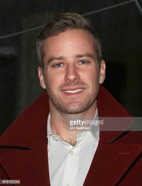 Actor Armie Hammer attends the after party for the screening of Sony Pictures Classics' 'Call Me By Your Name' hosted by Calvin Klein and The Cinema...