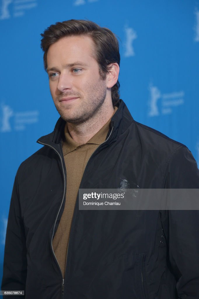 Actor Armie Hammer attends the 'Call Me by Your Name' photo call during the 67th Berlinale International Film Festival Berlin at Grand Hyatt Hotel on February 13, 2017 in Berlin, Germany.