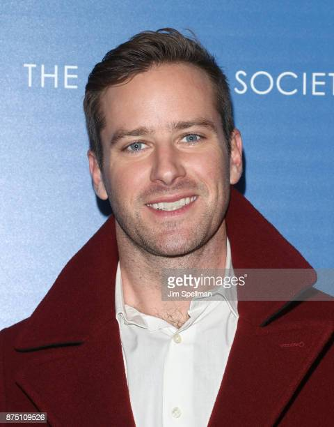 Actor Armie Hammer attends the screening of Sony Pictures Classics' 'Call Me By Your Name' hosted by Calvin Klein and The Cinema Society at Museum of...