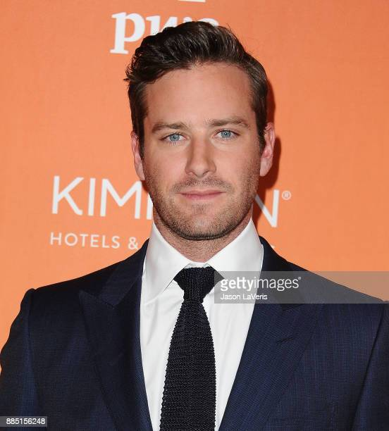 Actor Armie Hammer attends The Trevor Project's 2017 TrevorLIVE LA at The Beverly Hilton Hotel on December 3 2017 in Beverly Hills California