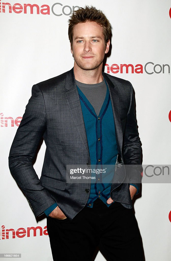 Actor Armie Hammer attends the Walt Disney Studios presentation during CinemaCon 2013 at the Colesseum at Caesars Palace on April 17, 2013 in Las Vegas, Nevada.