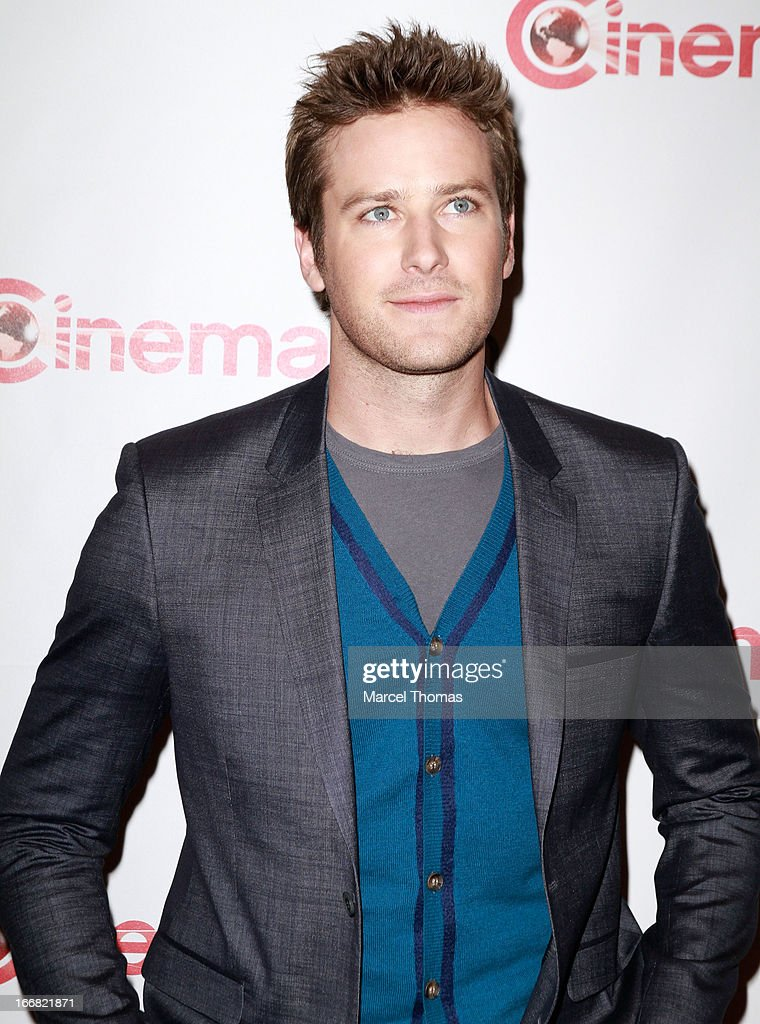 Actor <a gi-track='captionPersonalityLinkClicked' href=/galleries/search?phrase=Armie+Hammer&family=editorial&specificpeople=5313113 ng-click='$event.stopPropagation()'>Armie Hammer</a> attends the Walt Disney Studios presentation during CinemaCon 2013 at the Colesseum at Caesars Palace on April 17, 2013 in Las Vegas, Nevada.