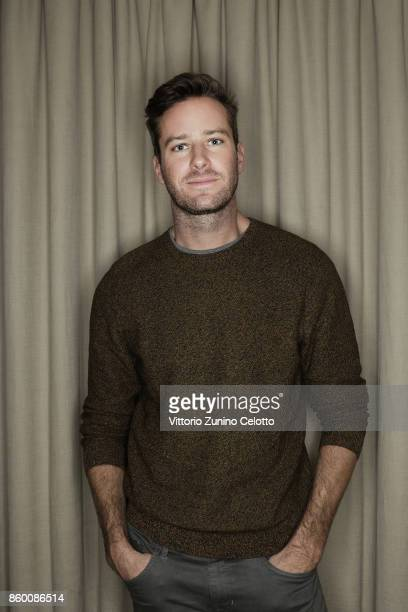 Actor Armie Hammer is photographed during the 61st BFI London Film Festival on October 9 2017 in London England