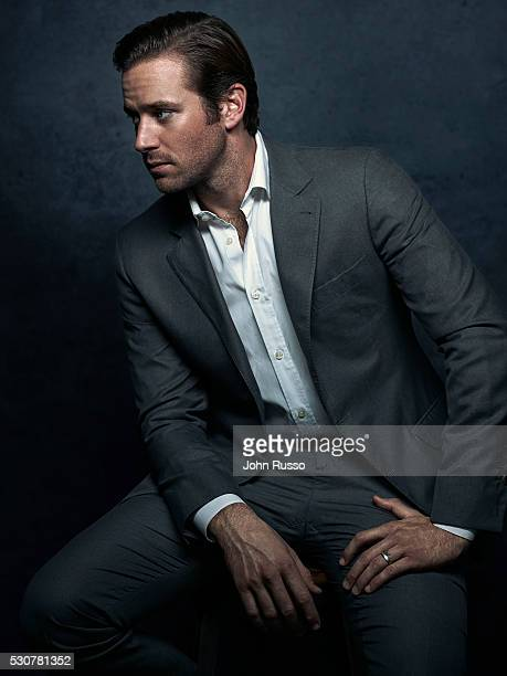 Actor Armie Hammer is photographed for Self Assignment on February 1 2016 in Los Angeles California