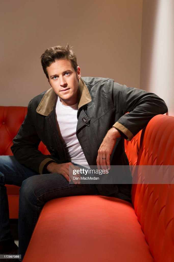 Actor <a gi-track='captionPersonalityLinkClicked' href=/galleries/search?phrase=Armie+Hammer&family=editorial&specificpeople=5313113 ng-click='$event.stopPropagation()'>Armie Hammer</a> is photographed for USA Today on June 13, 2013 in West Hollywood, California.