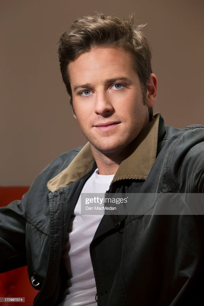 Actor <a gi-track='captionPersonalityLinkClicked' href=/galleries/search?phrase=Armie+Hammer&family=editorial&specificpeople=5313113 ng-click='$event.stopPropagation()'>Armie Hammer</a> is photographed for USA Today on June 13, 2013 in West Hollywood, California. PUBLISHED IMAGE.