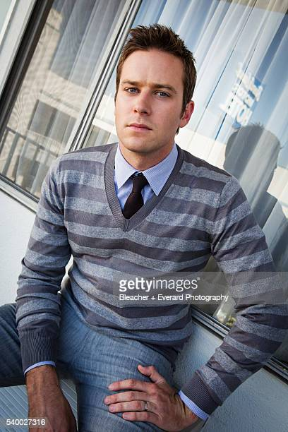 Actor Armie Hammer is photographed on March 12 2013 in Los Angeles California
