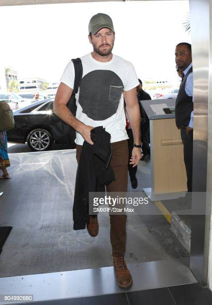 Actor Armie Hammer is seen on June 30 2017 in Los Angeles California