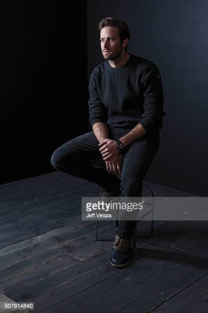Actor Armie Hammer of 'Birth of a Nation' poses for a portrait at the 2016 Sundance Film Festival on January 25 2016 in Park City Utah