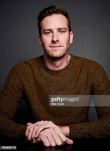 Actor Armie Hammer of 'Call Me By Your Name' pose for a portrait at the 55th New York Film Festival on October 4 2017