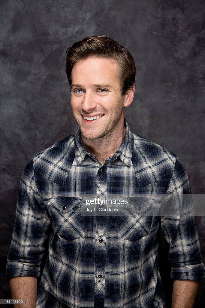 Actor Armie Hammer of ' Man from U.N.C.L.E.' poses poses for a portrait at Comic-Con International 2015 for Los Angeles Times on July 9, 2015 in San Diego, California. PUBLISHED IMAGE.