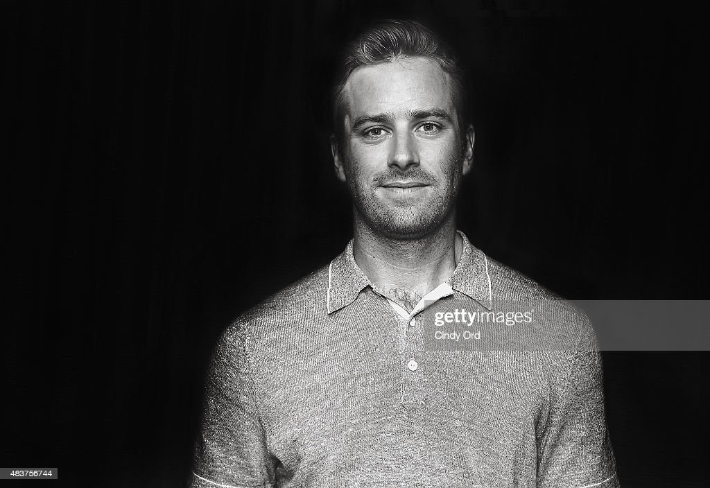 This image was processed using digital filters) Actor <a gi-track='captionPersonalityLinkClicked' href=/galleries/search?phrase=Armie+Hammer&family=editorial&specificpeople=5313113 ng-click='$event.stopPropagation()'>Armie Hammer</a> poses for a photo during SiriusXM's Entertainment Weekly Radio 'The Man from U.N.C.L.E.' Town Hall with Guy Ritchie, Henry Cavill and <a gi-track='captionPersonalityLinkClicked' href=/galleries/search?phrase=Armie+Hammer&family=editorial&specificpeople=5313113 ng-click='$event.stopPropagation()'>Armie Hammer</a> on August 12, 2015 in New York City.