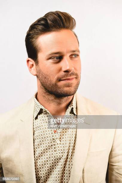 Actor Armie Hammer poses for a portrait at the 'FREE FIRE' premiere 2017 SXSW Conference and Festivals on March 13 2017 in Austin Texas