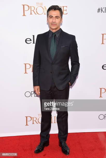 Actor Armin Amiri arrives to the Los Angeles premiere of 'The Promise' at TCL Chinese Theatre on April 12 2017 in Hollywood California