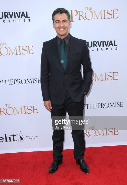 Actor Armin Amiri attends premiere of Open Road Films' 'The Promise' at TCL Chinese Theatre on April 12 2017 in Hollywood California