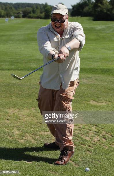 Actor Armin Rohde attends the BMW Adlon Golf Cup 2010 at Golf and Country Club Seddiner See on August 21 2010 in Michendorf near Berlin Germany