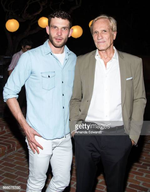 Actor Arnaud Valois and director Randal Kleiser attend a reception hosted by the Consul General of France honoring Robin Campillo and celebrating the...