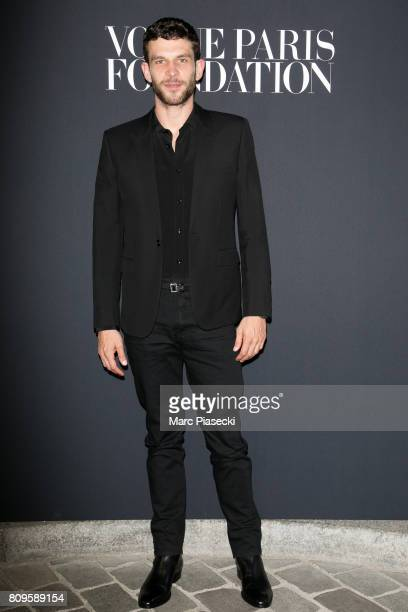 Actor Arnaud Valois attends Vogue Foundation Dinner during Paris Fashion Week as part of Haute Couture Fall/Winter 20172018 at Musee Galliera on July...
