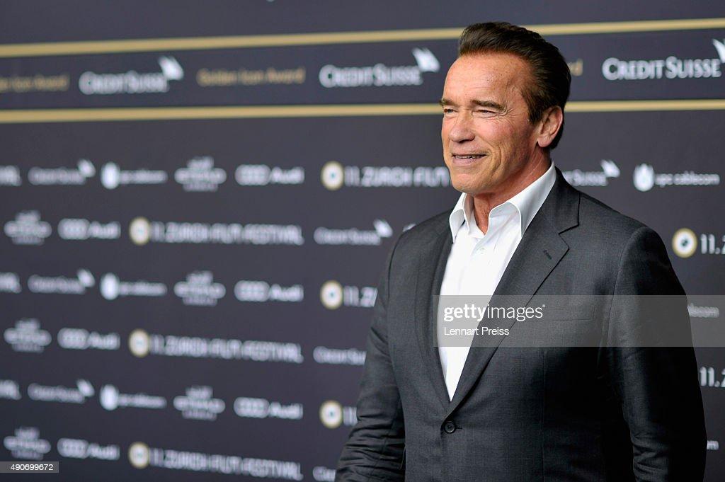 'Maggie' Premiere and 'ZFF Golden Icon Award' - Zurich Film Festival 2015