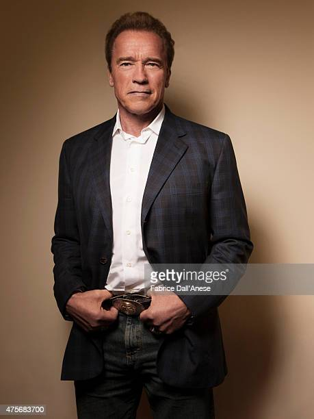 Actor Arnold Schwarzenegger is photographed for Vanity Faircom on April 23 2015 in New York