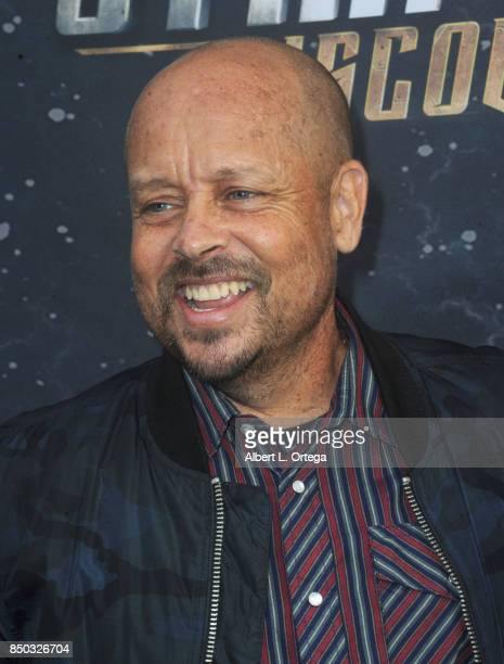 Actor Aron Eisenberg arrives for the Premiere Of CBS's 'Star Trek Discovery' held at The Cinerama Dome on September 19 2017 in Los Angeles California