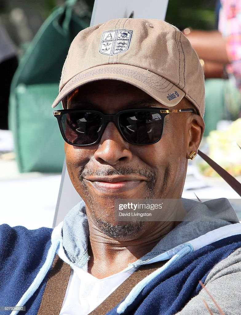 Actor Arsenio Hall attends the Ninth Annual George Lopez Celebrity Golf Classic at Lakeside Golf Club on May 2, 2016 in Burbank, California.