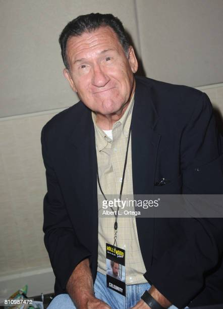Actor Art LaFleur signs autographs at The Hollywood Show held at Westin LAX Hotel on July 8 2017 in Los Angeles California
