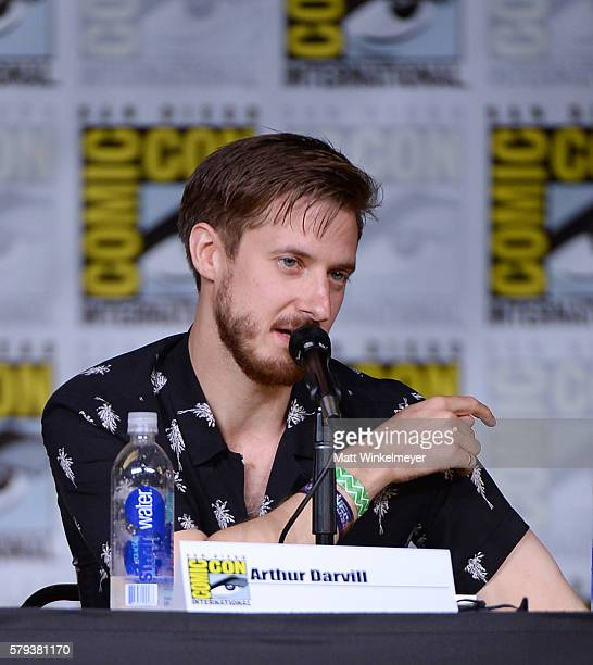 Actor Arthur Darvill attends DC's 'Legends Of Tomorrow' Special Video Presentation and QA during ComicCon International 2016 at San Diego Convention...
