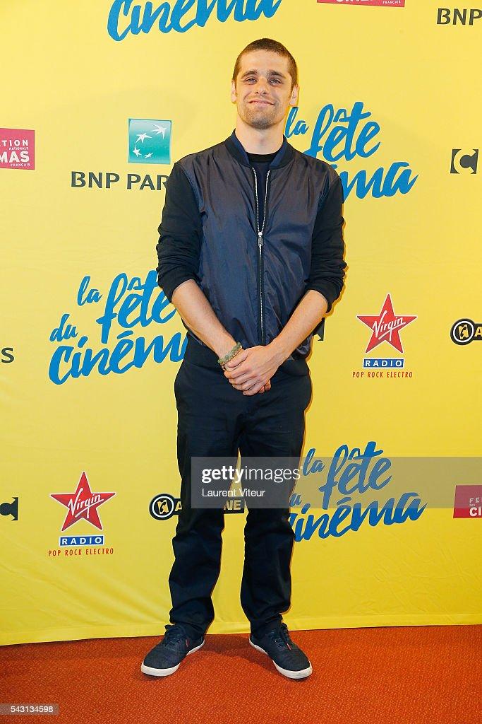 Actor Arthur Dupont attends the 32nd 'Fete du Cinema' launch at UGC Cine Cite Bercy on June 26, 2016 in Paris, France.