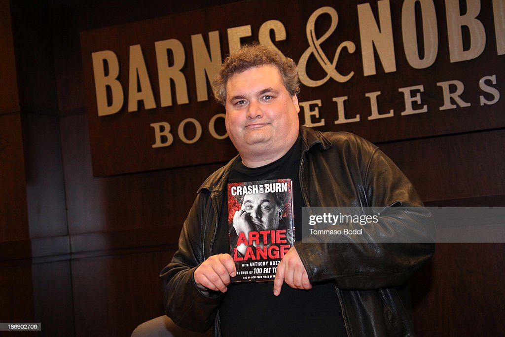 Actor Artie Lang signs copies of his new book 'Crash And Burn' at Barnes Noble bookstore at The Grove on November 4 2013 in Los Angeles California