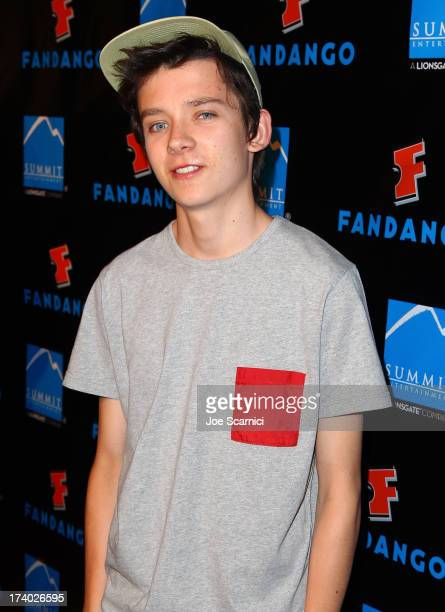 Actor Asa Butterfield attends Summit Entertainment ComicCon VIP Celebration red carpet sponsored by Fandango at Hard Rock Hotel San Diego on July 18...
