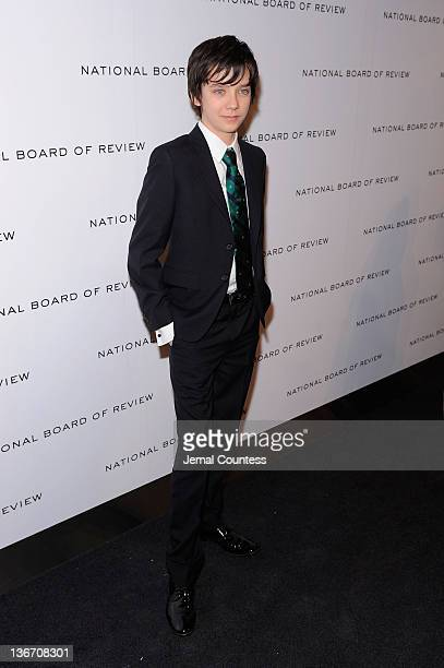 Actor Asa Butterfield attends the 2011 National Board of Review Awards gala at Cipriani 42nd Street on January 10 2012 in New York City