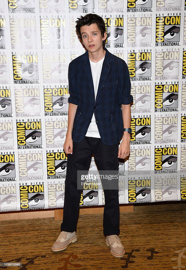Actor Asa Butterfield attends the 'Ender's Game' and 'Divergent' press line during Comic-Con International 2013 at the Hilton San Diego Bayfront Hotel on July 18, 2013 in San Diego, California.