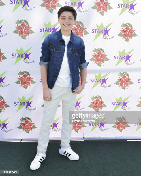Actor Asher Angel attends 17th Annual Children's Earth Day Extravaganza at Star Eco Station on April 2 2017 in Culver City California