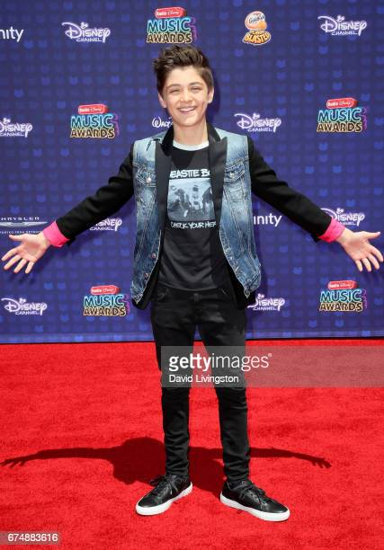 Actor Asher Angel attends the 2017 Radio Disney Music Awards at Microsoft Theater on April 29 2017 in Los Angeles California