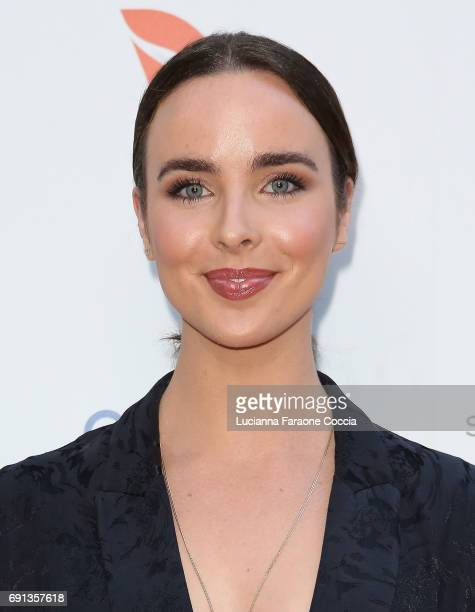 Actor Ashleigh Brewer attends the 9th Annual Australians In Film Heath Ledger Scholarship Dinner at Sunset Marquis Hotel on June 1 2017 in West...
