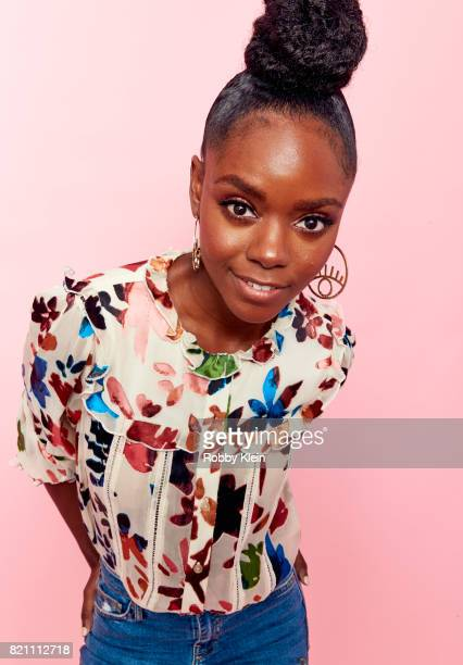 Actor Ashleigh Murray from CW's 'Riverdale' poses for a portrait during ComicCon 2017 at Hard Rock Hotel San Diego on July 22 2017 in San Diego...