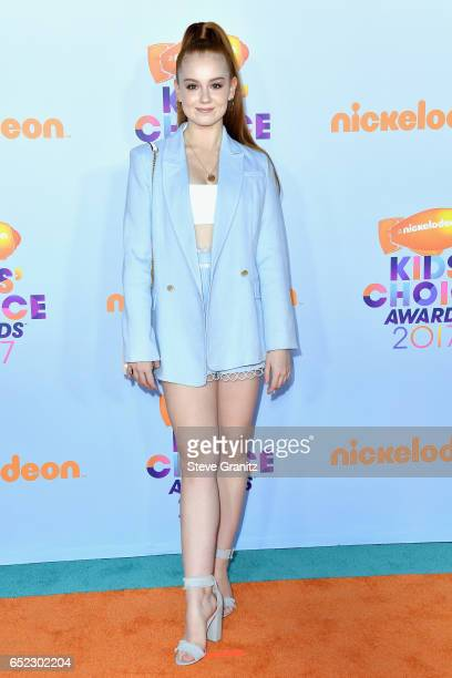 Actor Ashleigh Ross at Nickelodeon's 2017 Kids' Choice Awards at USC Galen Center on March 11 2017 in Los Angeles California