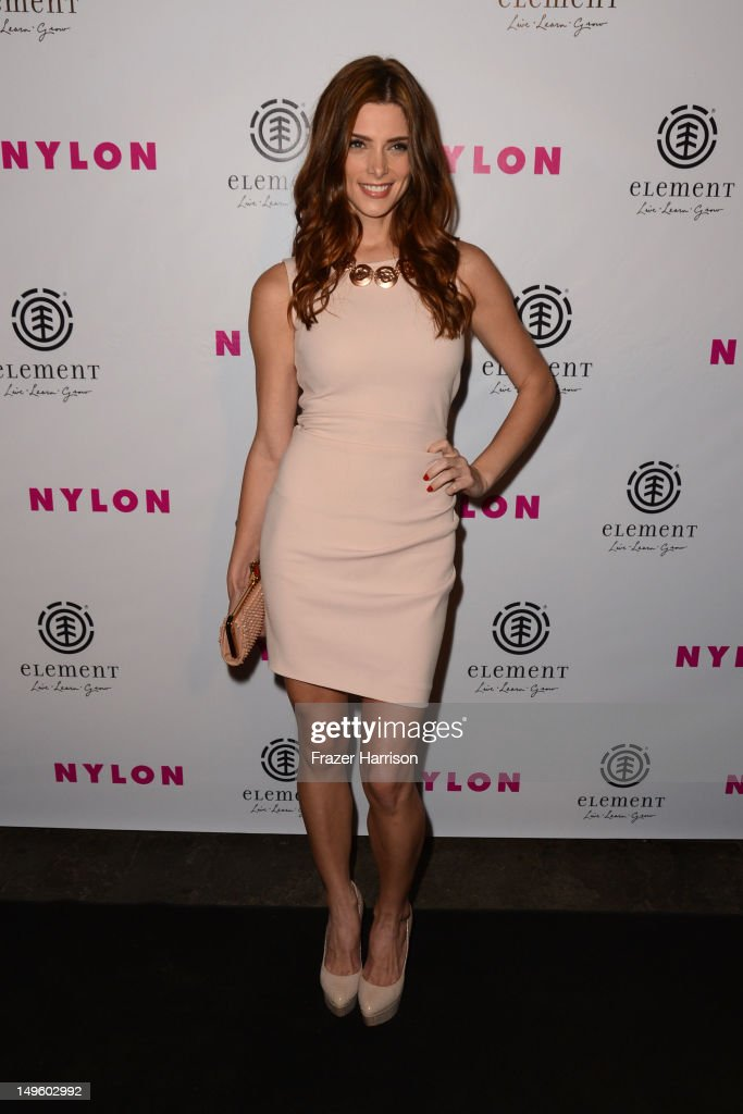 Actor <a gi-track='captionPersonalityLinkClicked' href=/galleries/search?phrase=Ashley+Greene&family=editorial&specificpeople=781552 ng-click='$event.stopPropagation()'>Ashley Greene</a> arrives at NYLON Magazine August Issue Launch Party hosted by <a gi-track='captionPersonalityLinkClicked' href=/galleries/search?phrase=Ashley+Greene&family=editorial&specificpeople=781552 ng-click='$event.stopPropagation()'>Ashley Greene</a> at Blok on July 31, 2012 in Hollywood, California.