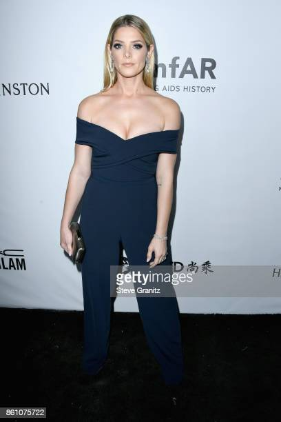 Actor Ashley Greene attends the amfAR Gala 2017 at Ron Burkle's Green Acres Estate on October 13 2017 in Beverly Hills California